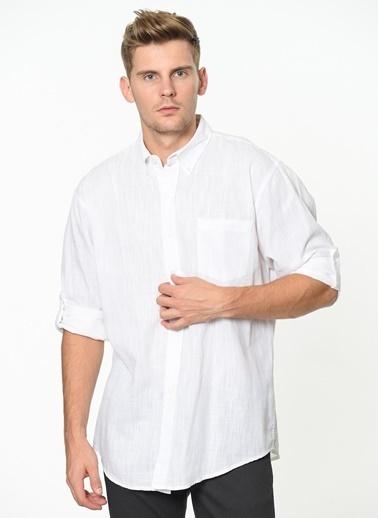 Wrangler Uzun Kollu Gömlek Beyaz